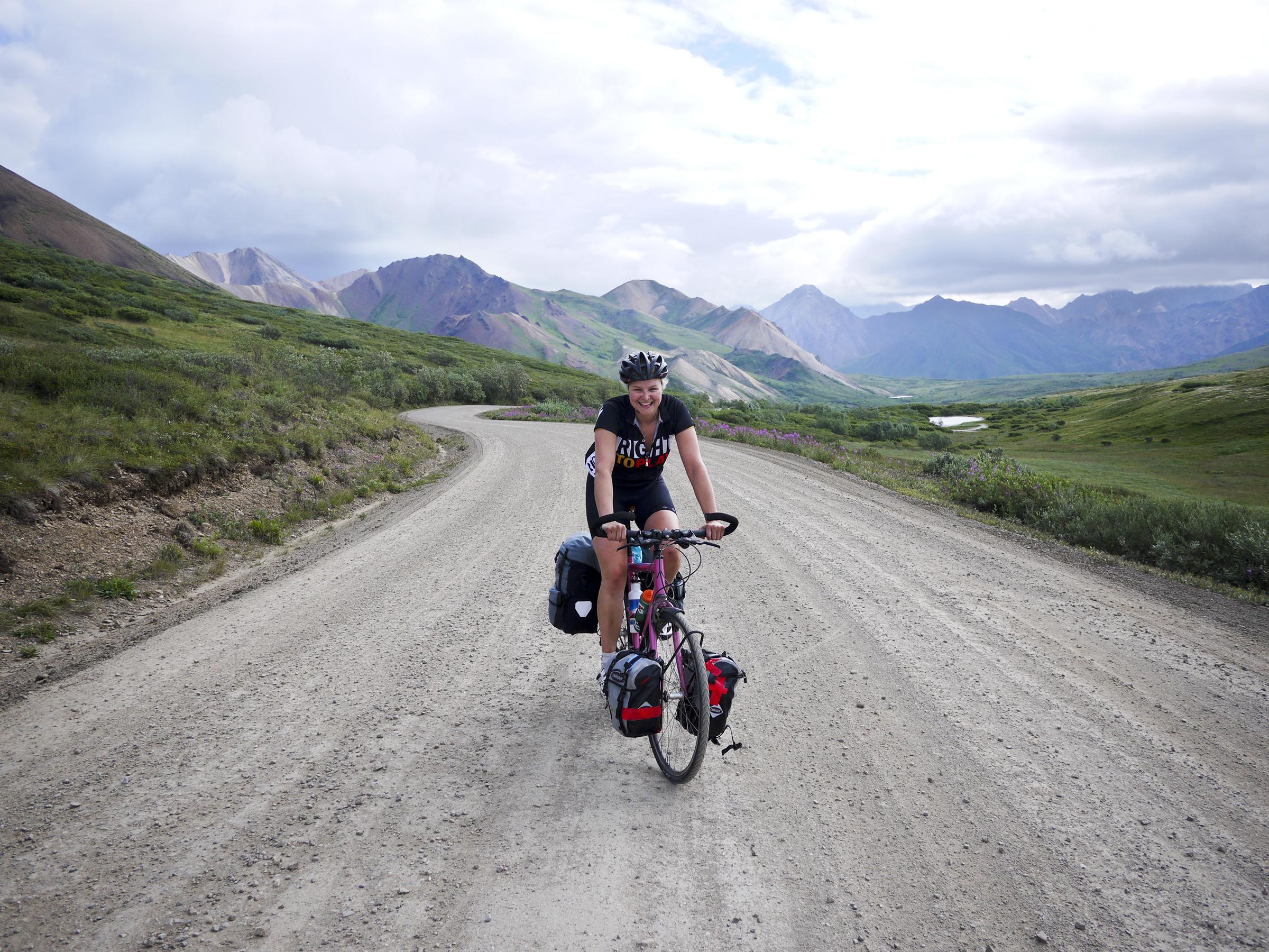 Anna McNuff adventurer cyclist