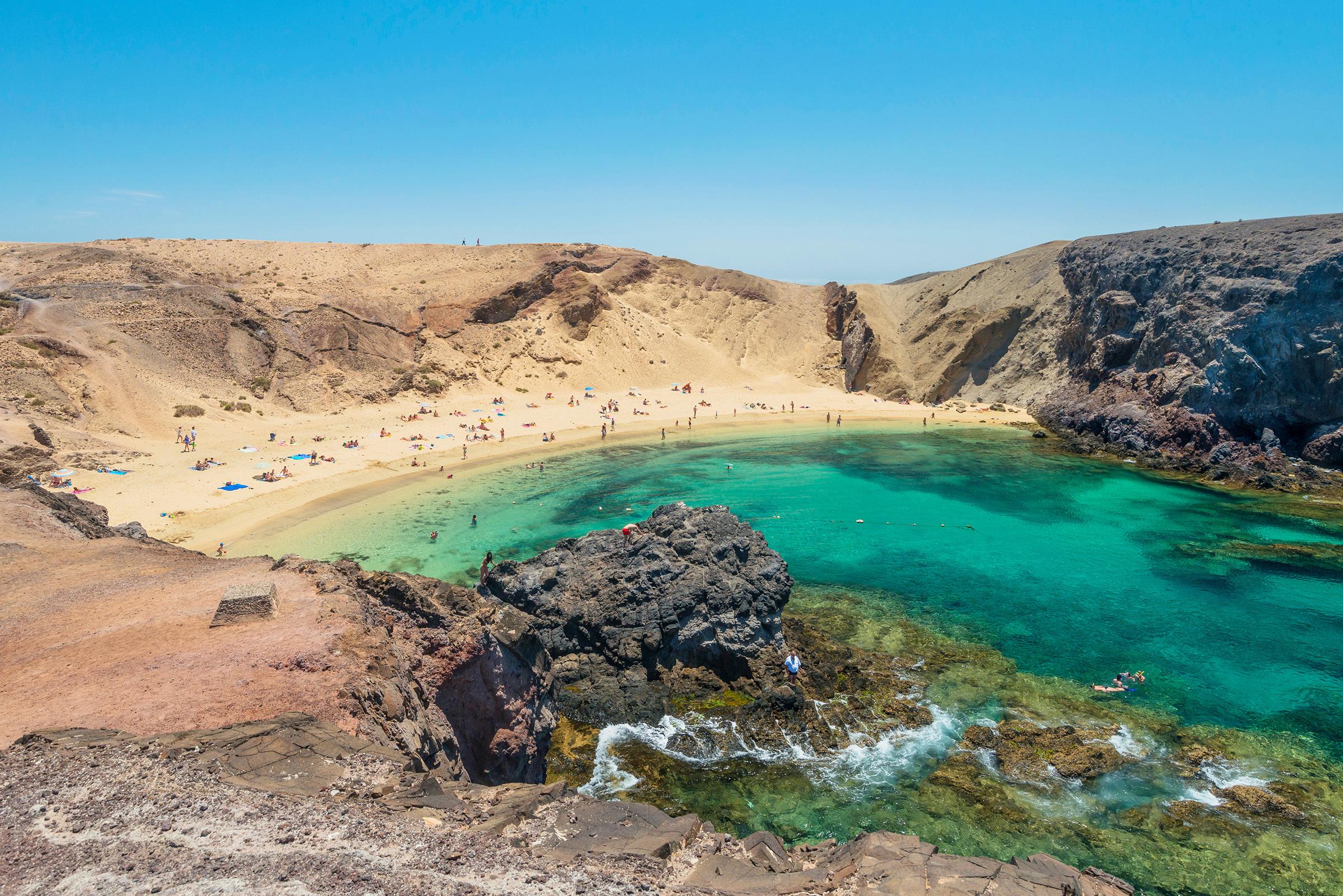 Lanzarote Canary Islands winter sun escapes