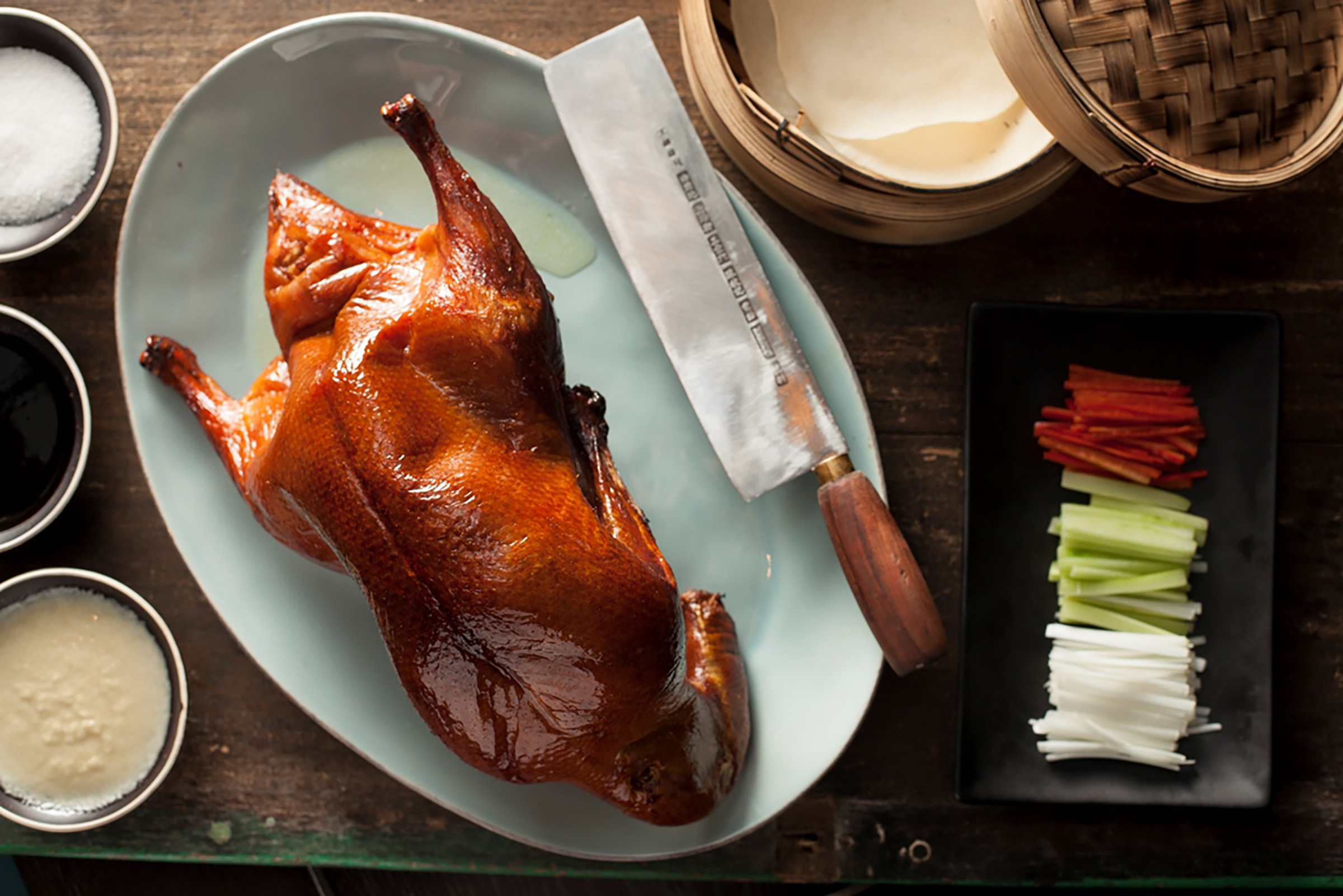 Mott 32 peking duck hong kong food