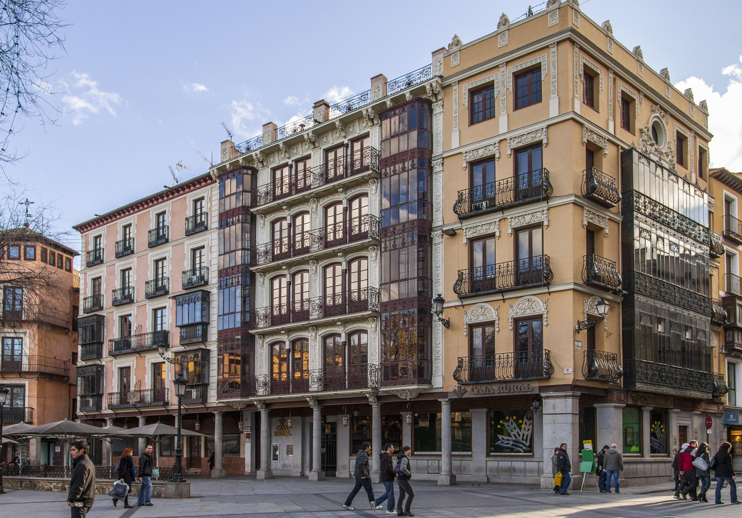 Plaza de Zocodover Toledo Spain
