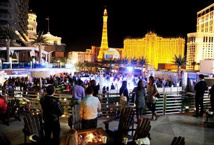 Saluta lanno nuovo a Las Vegas