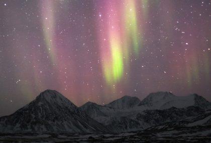 Lincanto dellaurora dove vedere laurora boreale
