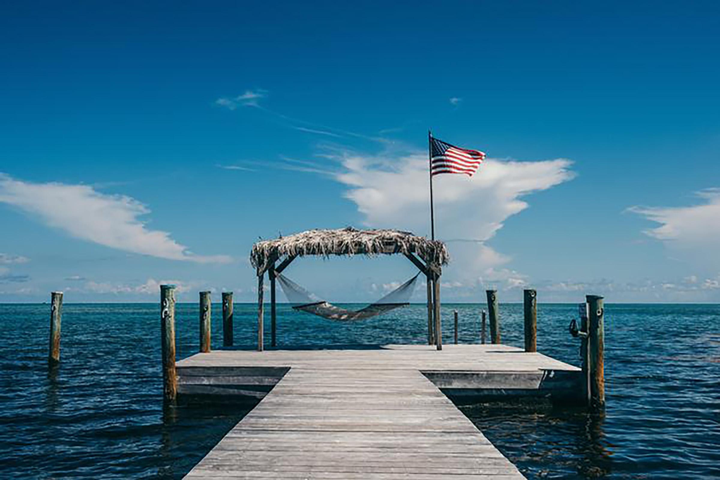 Pescarsi la cena alle Florida Keys