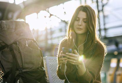Tecnologia da viaggio antistress
