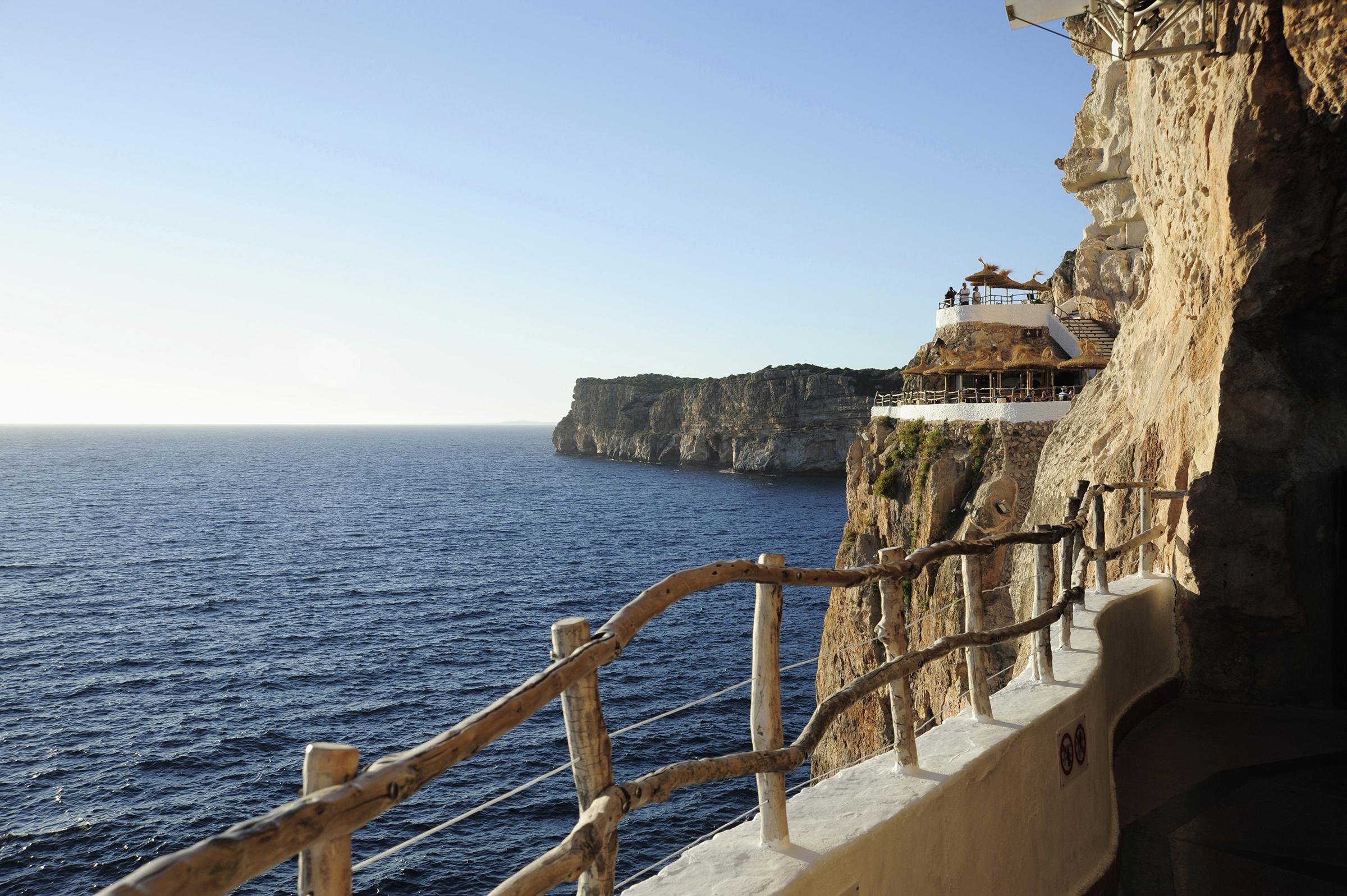 Il meglio per fare festa Cova den Xoroi Minorca Spagna