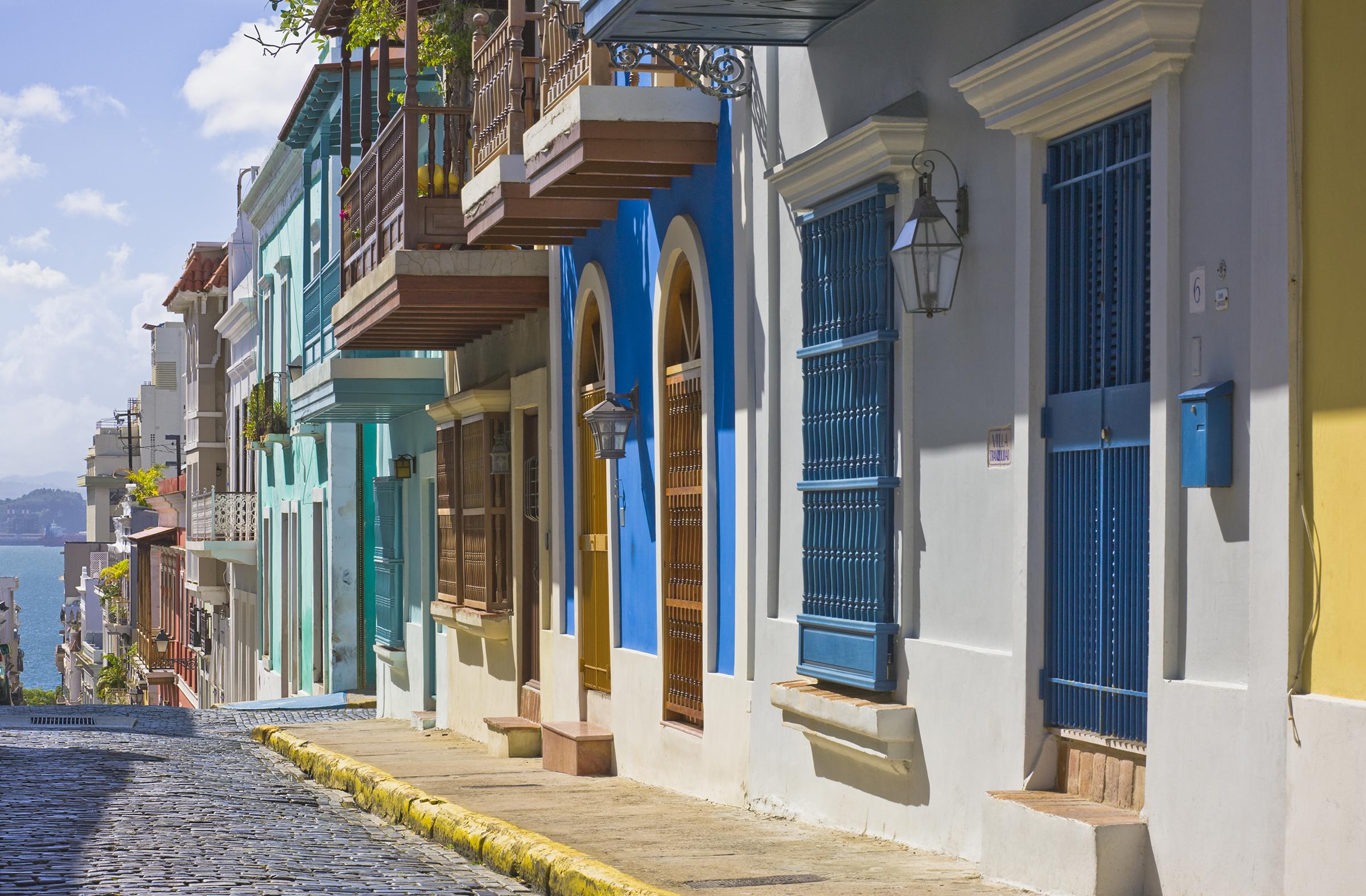 Northern hemisphere travel San Juan Puerto Rico