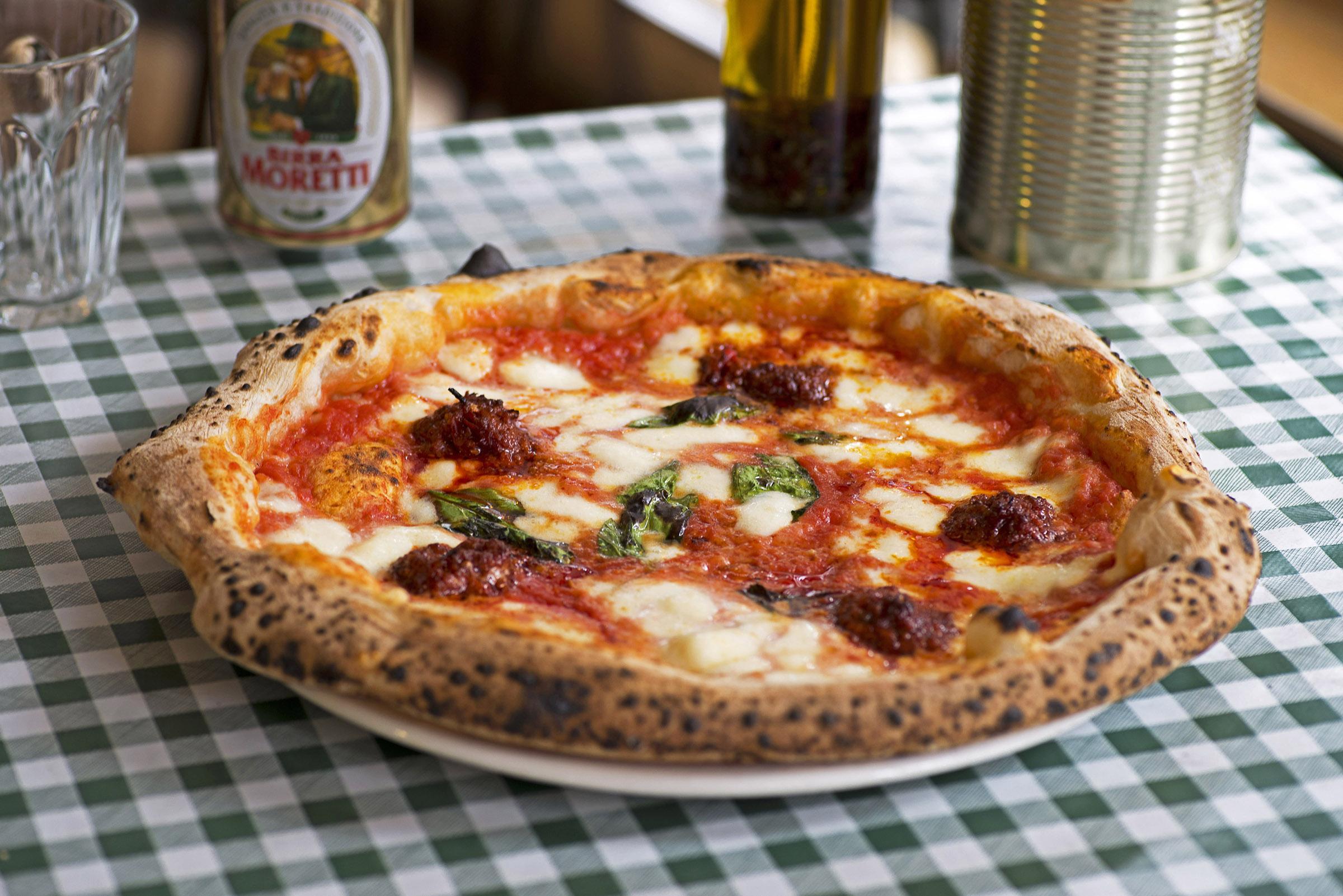 nduja pizza Pizza Pilgrims London