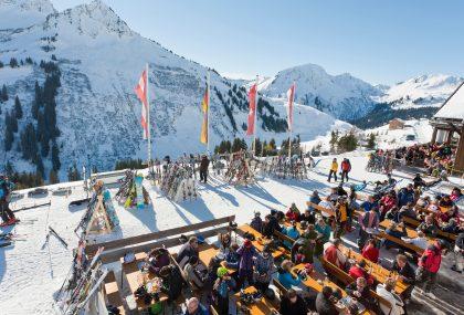 Vacanze sugli sci per buongustai