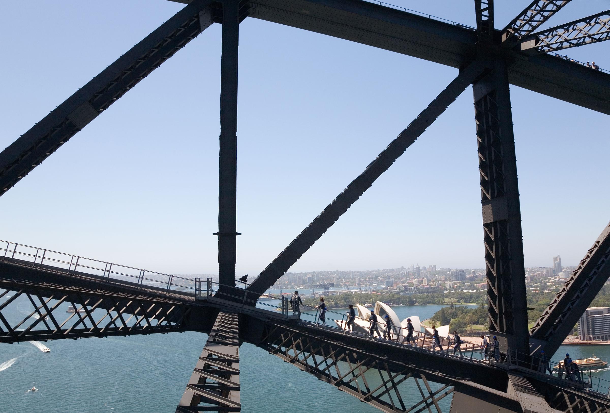 Harbour Bridge climb
