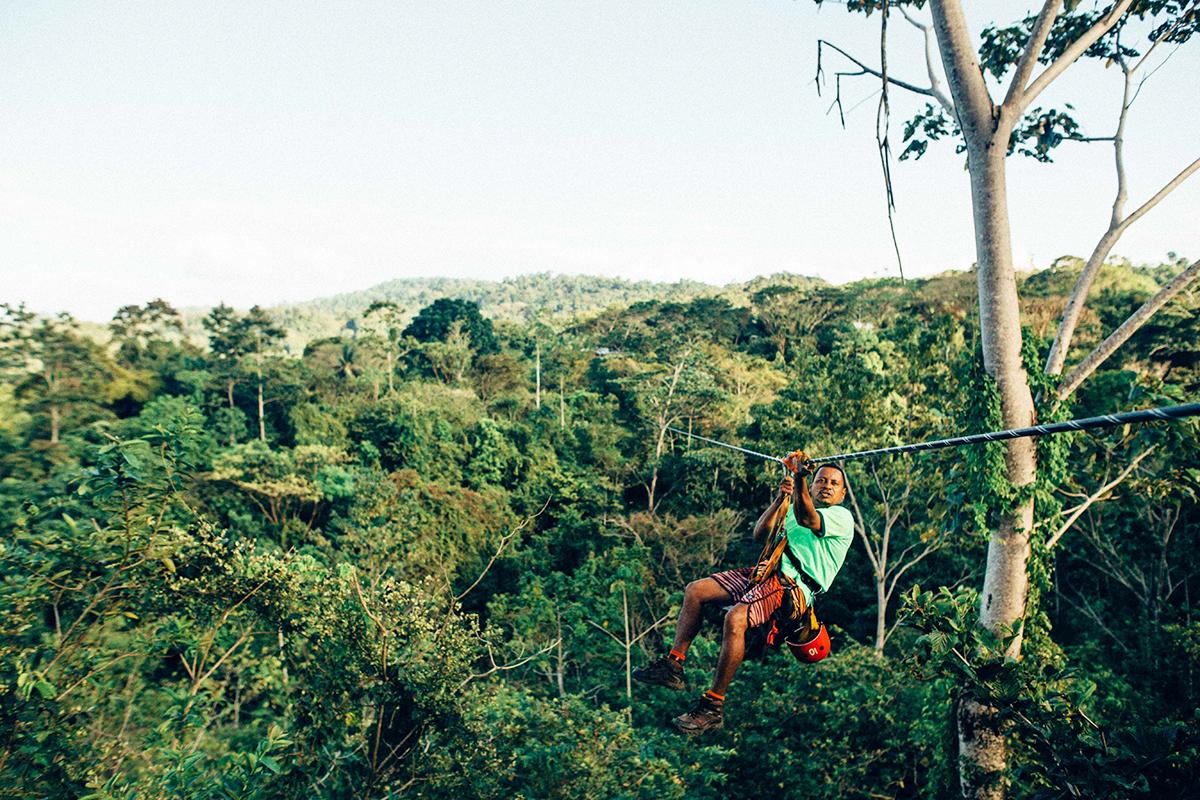 Giro in teleferica attraverso la foresta nebulosa della Costa Rica