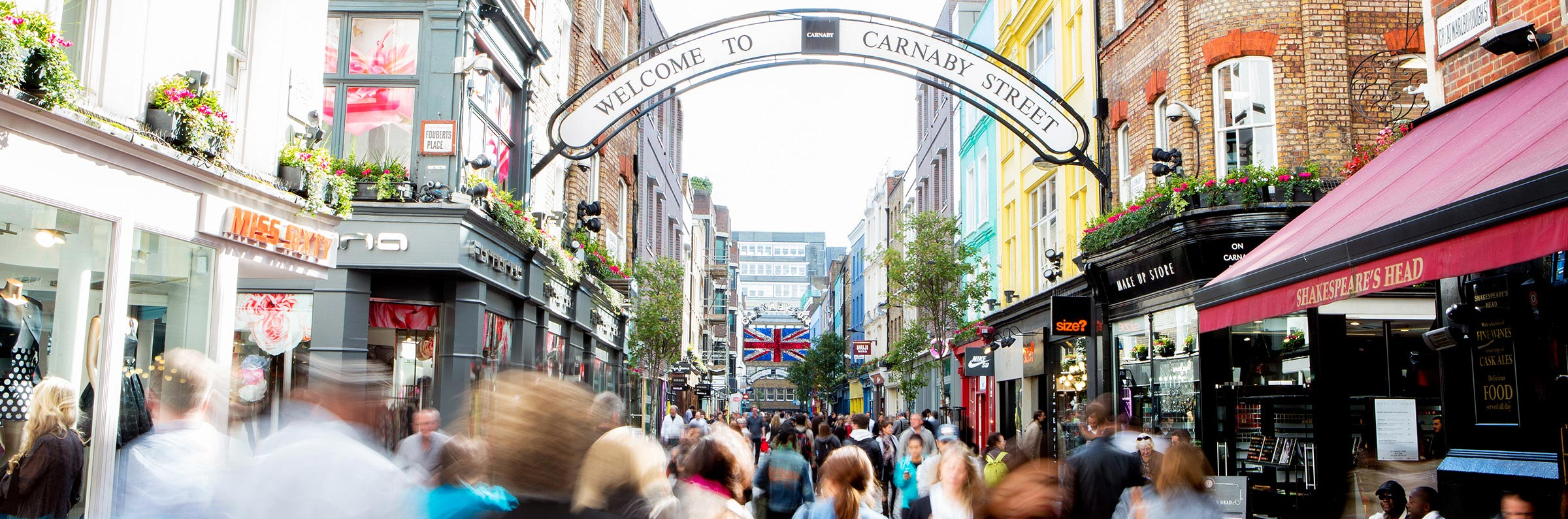 Compras in Londres