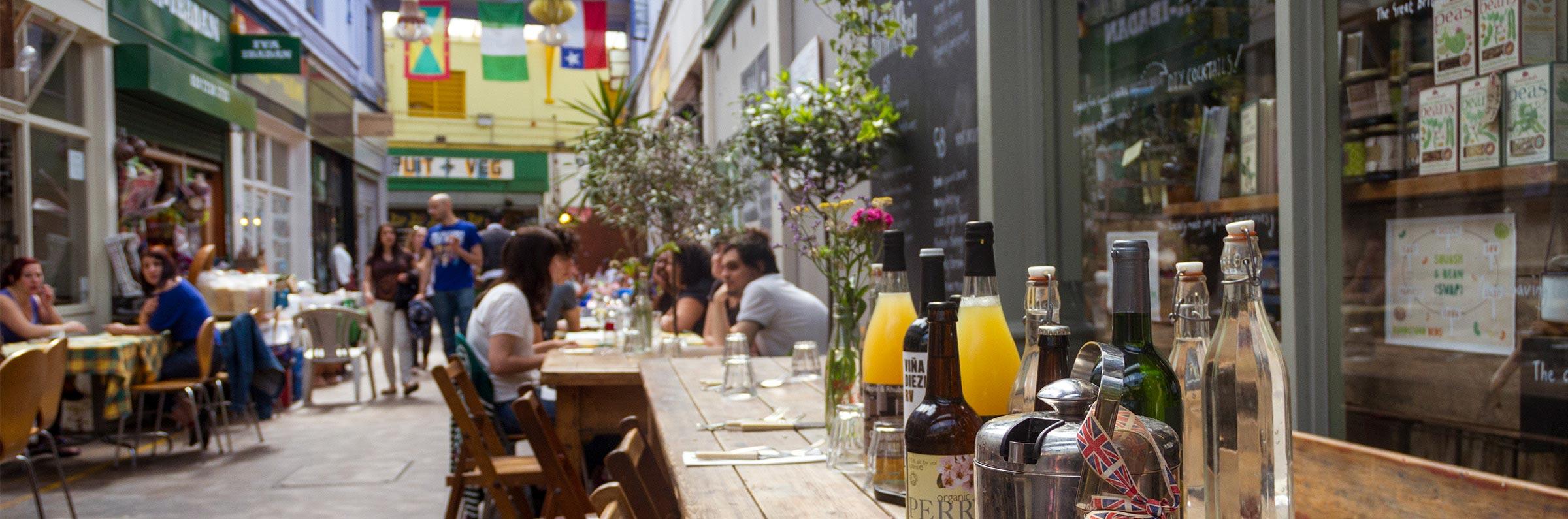 Comidas y bebidas in Londres
