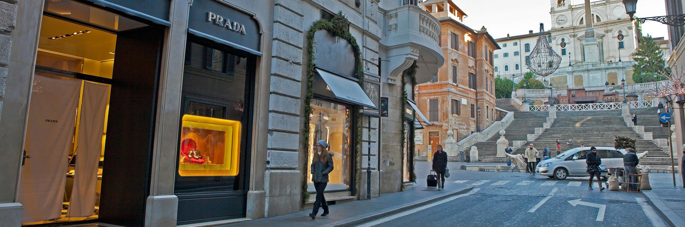 Compras in Roma