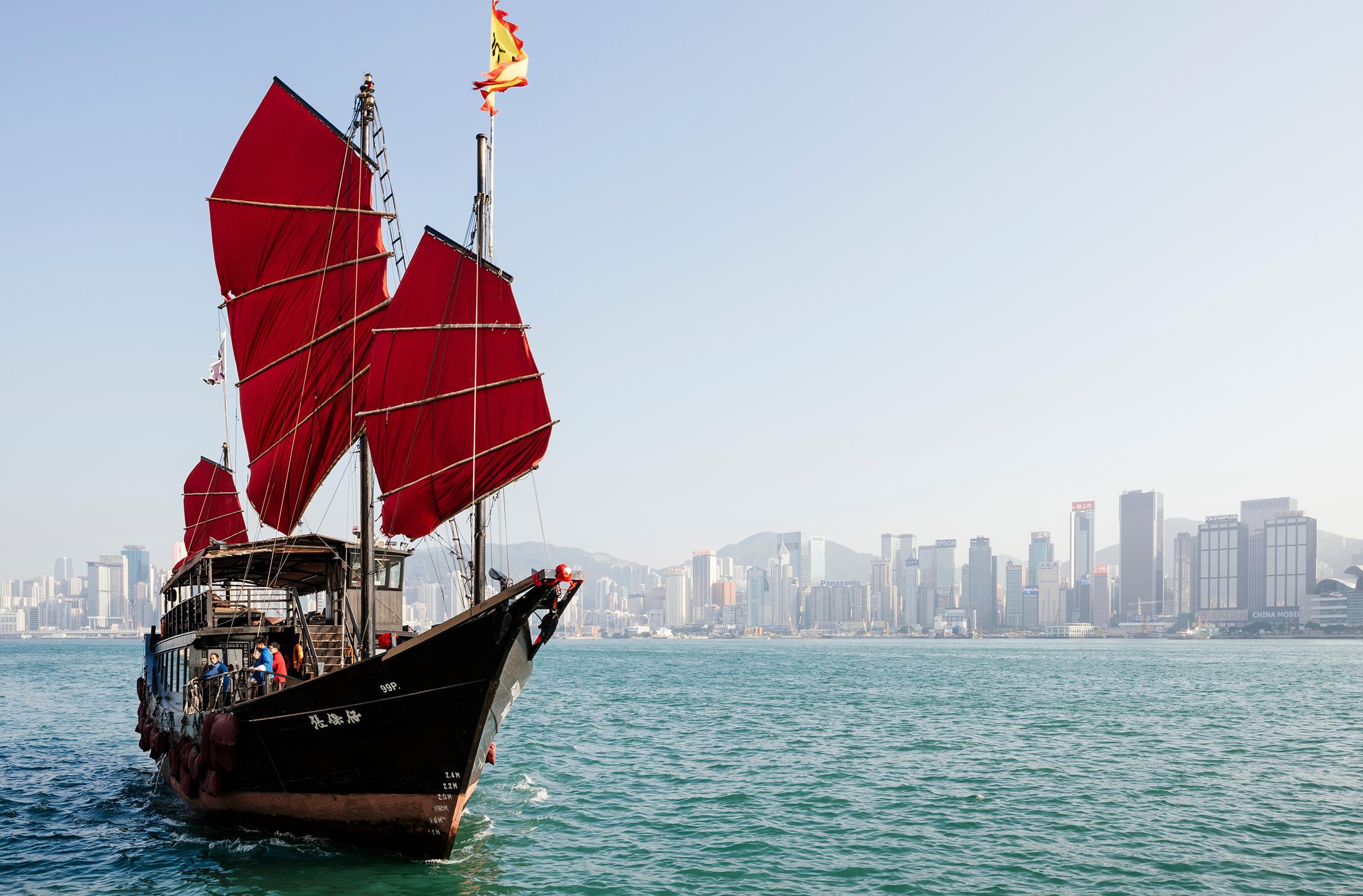 Navegacin viajes en barcos de junco