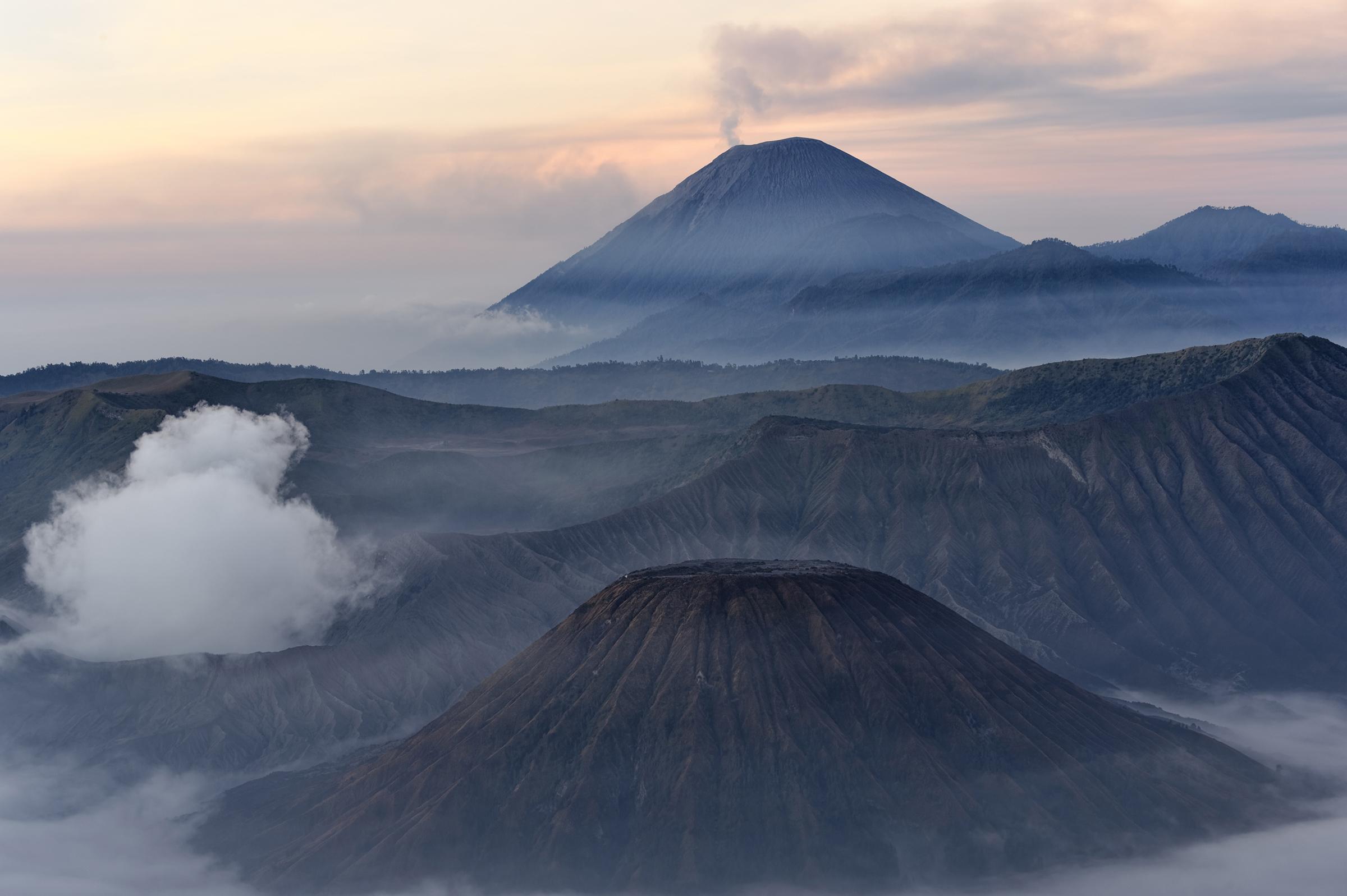 Alpinismo de volcanes Indonesia