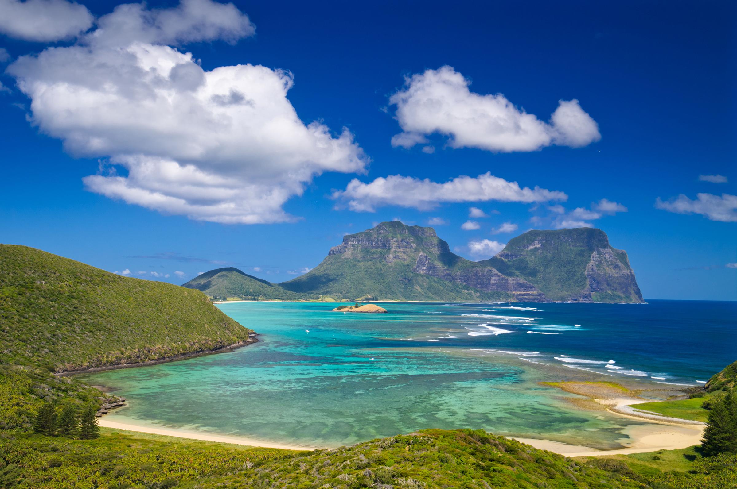 Lo mejor para accin y aventura Isla Lord Howe Australia