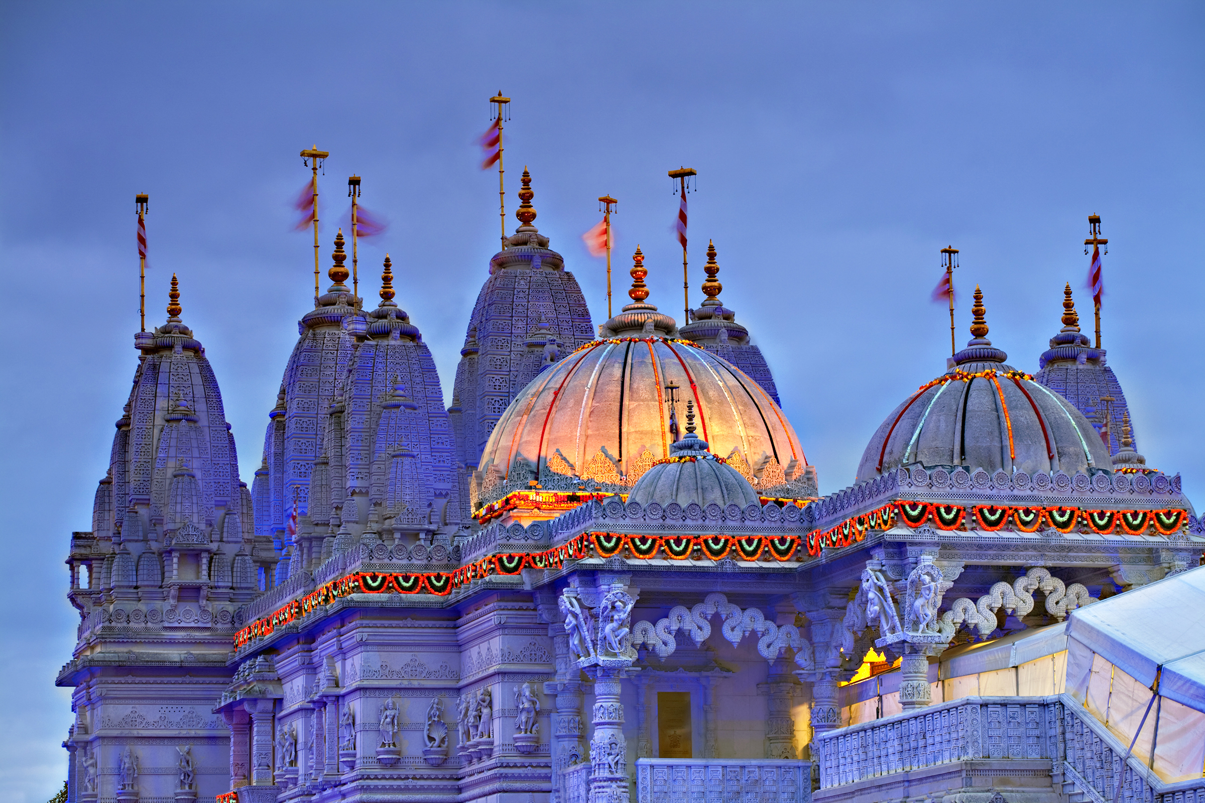 Shri Swaminarayan Mandir Temple London UK Diwali