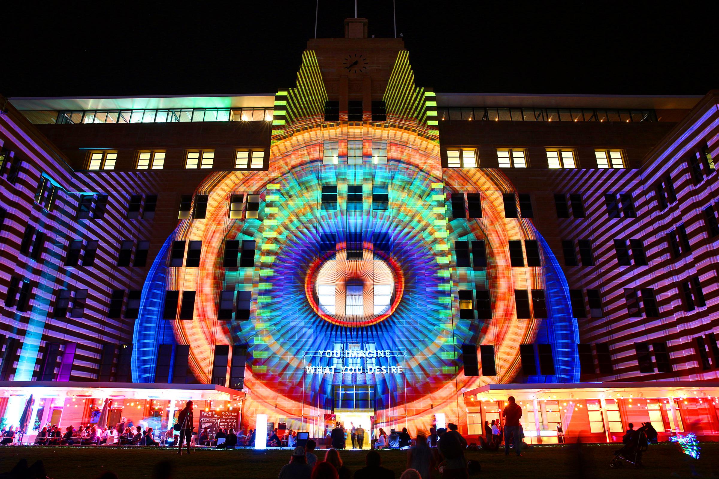 Vivid festival Sydney AU