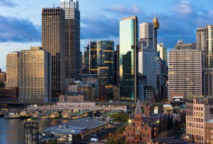 De mochilazo en Sydney