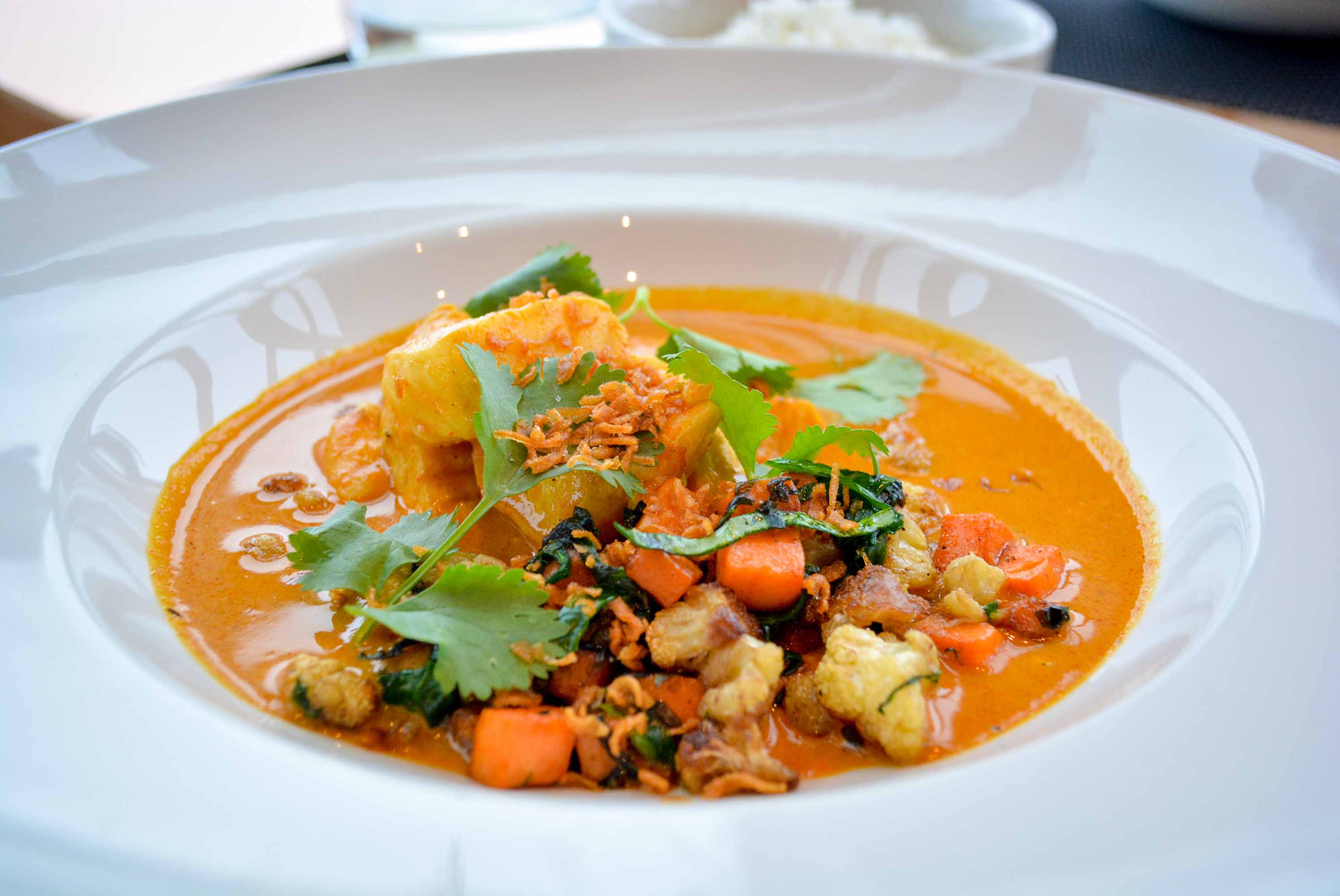 fish curry Christines Whistler Blackcomb