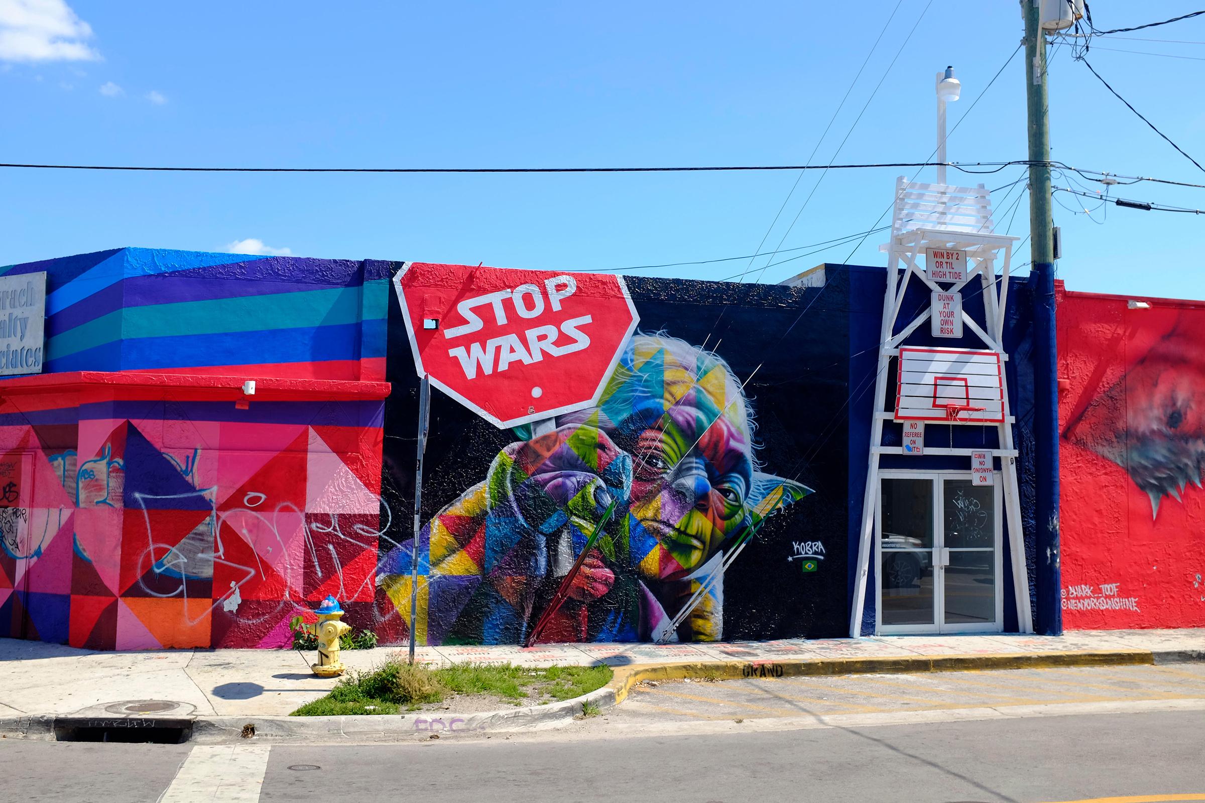 Miami La capital del arte callejero emergente