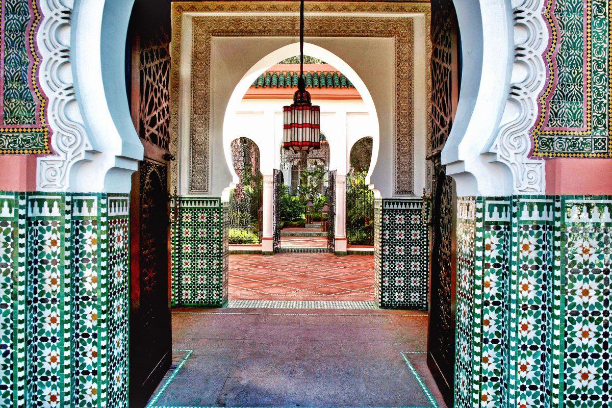Marrakech Morocco winter sun escapes