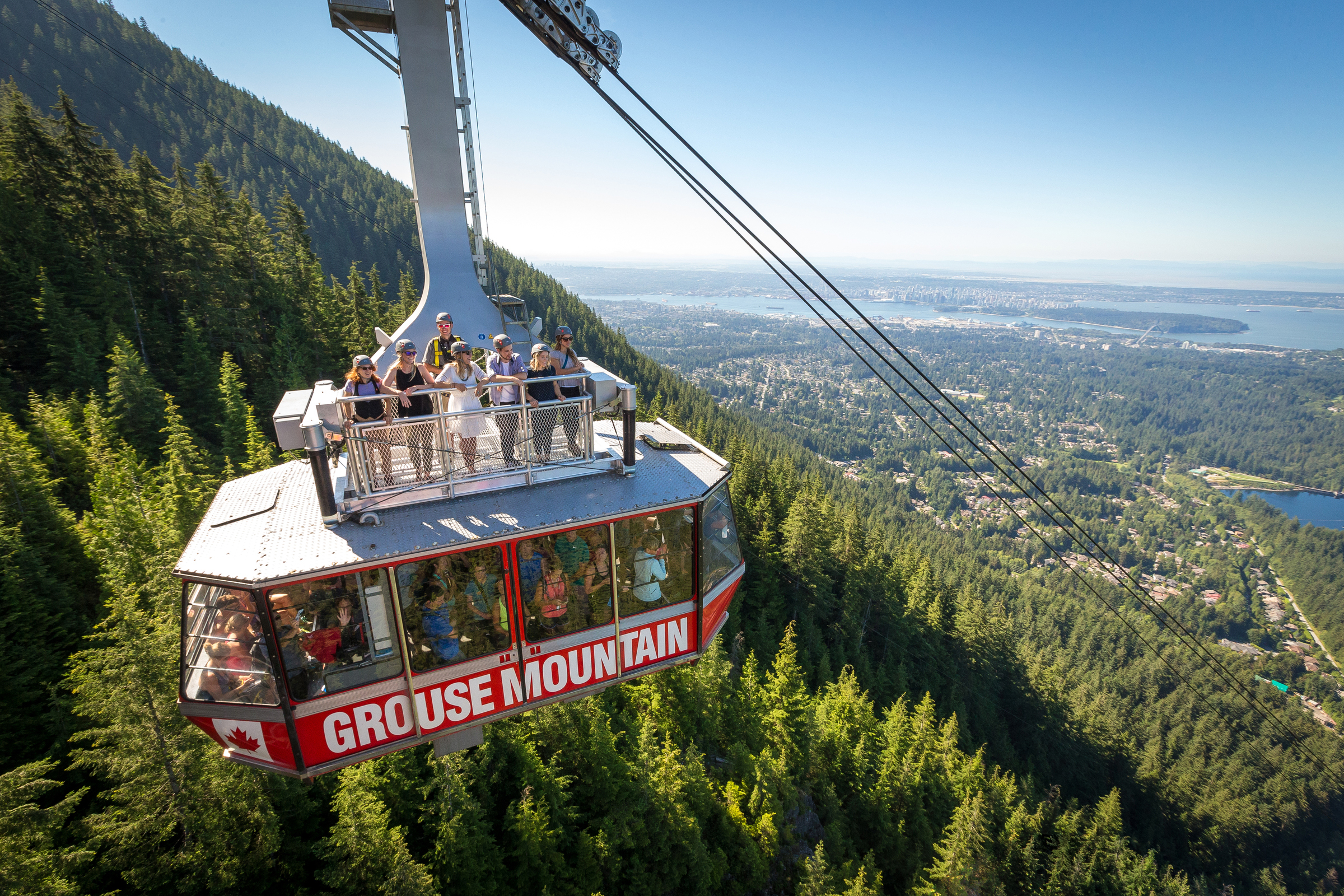 Skyride Surf Adventures Grouse Mountain Vancouver