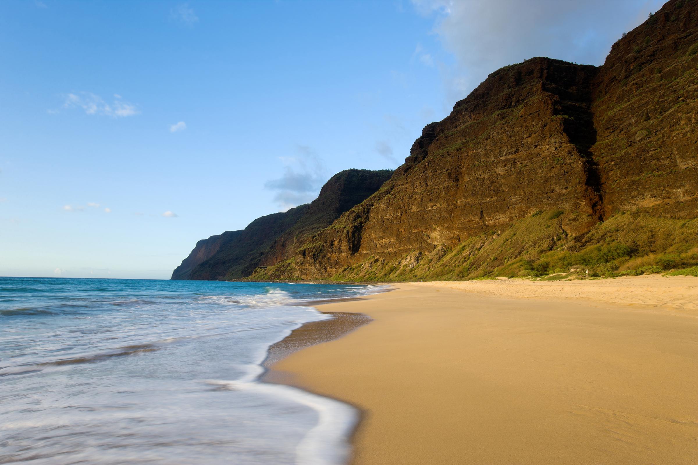 Best for peace and quietPolihale Beach Kauai Hawaii