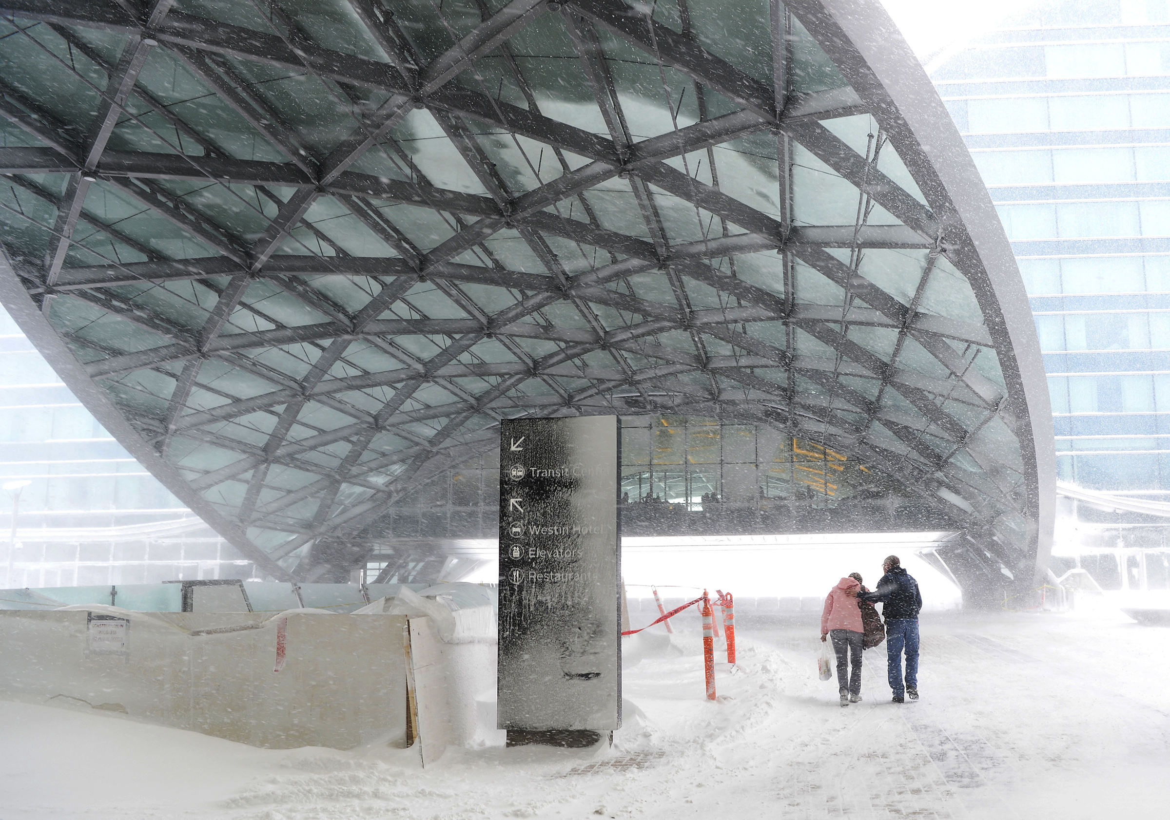 weather delays holiday travel