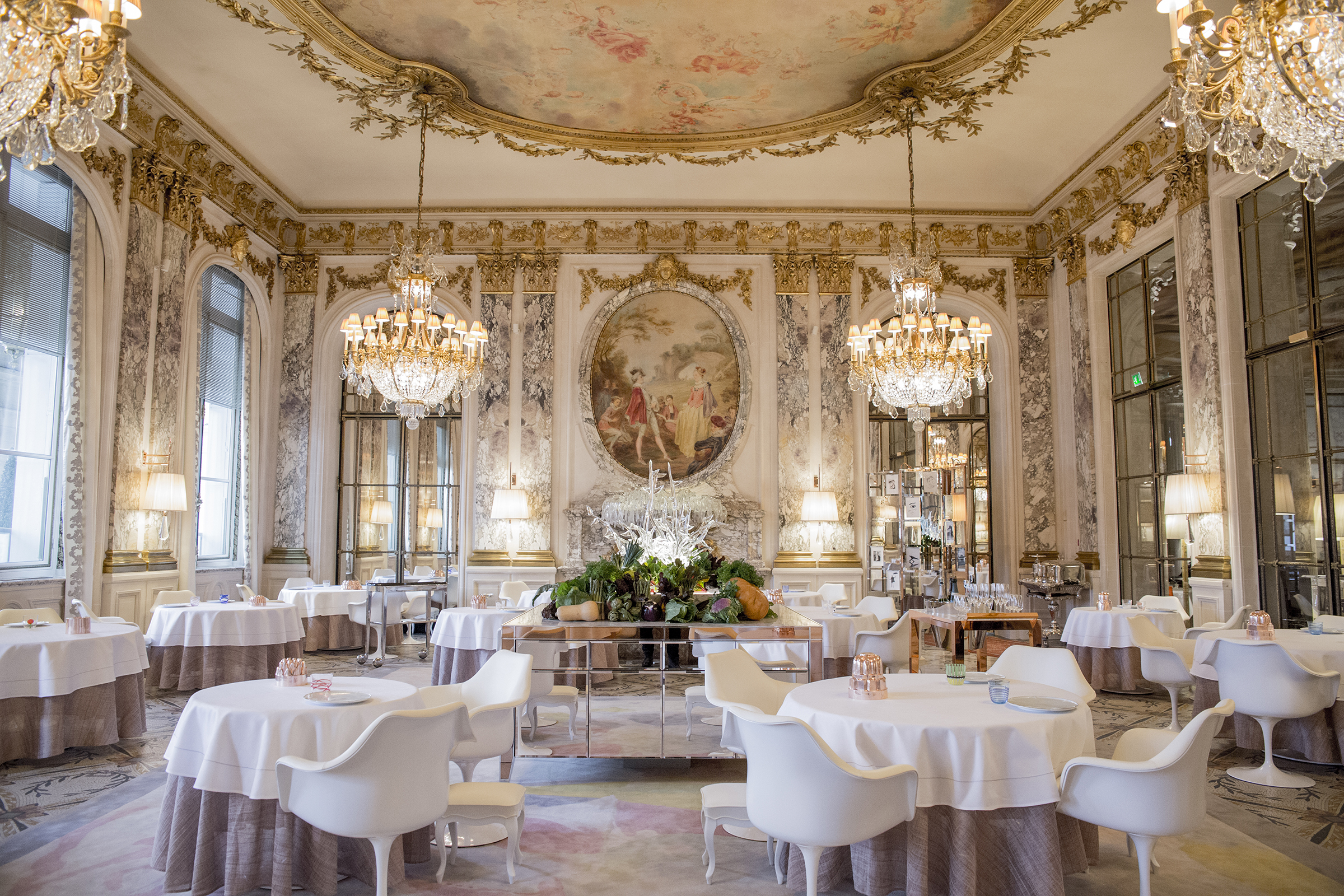 Restaurant Le Meurice Alain Ducasse Paris France 48 hours in Paris