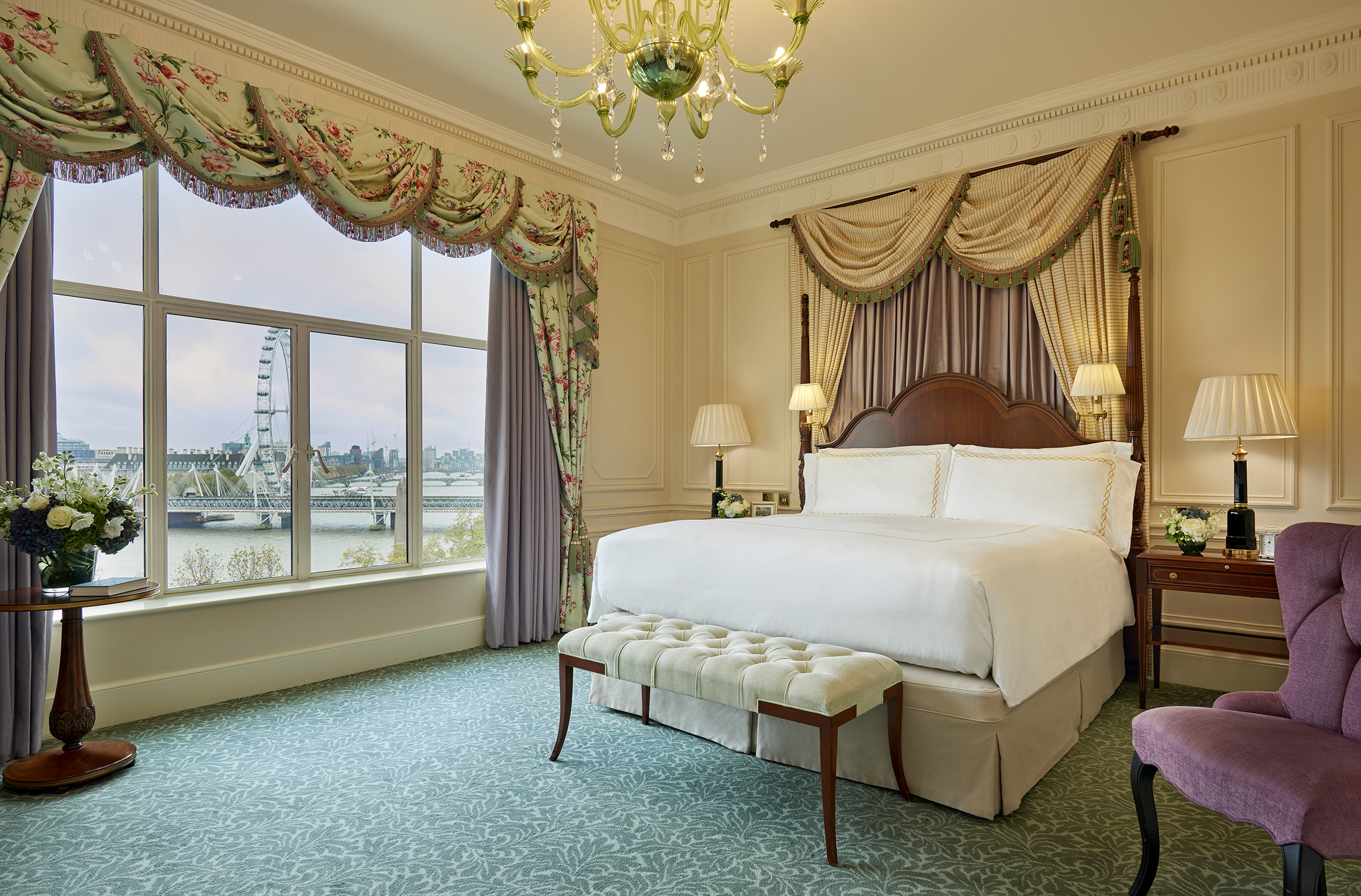 The Savoy guest room London