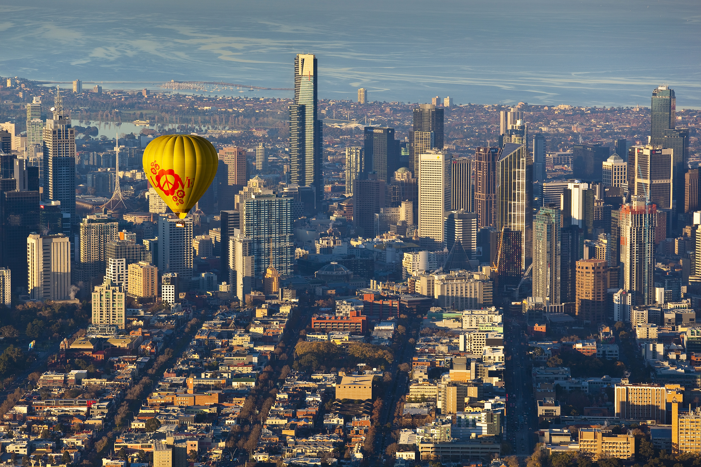 Melbourne hot air balloon ride