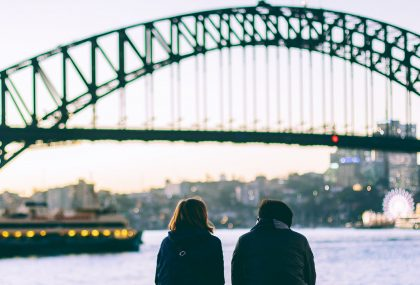 Falling in love with Sydney