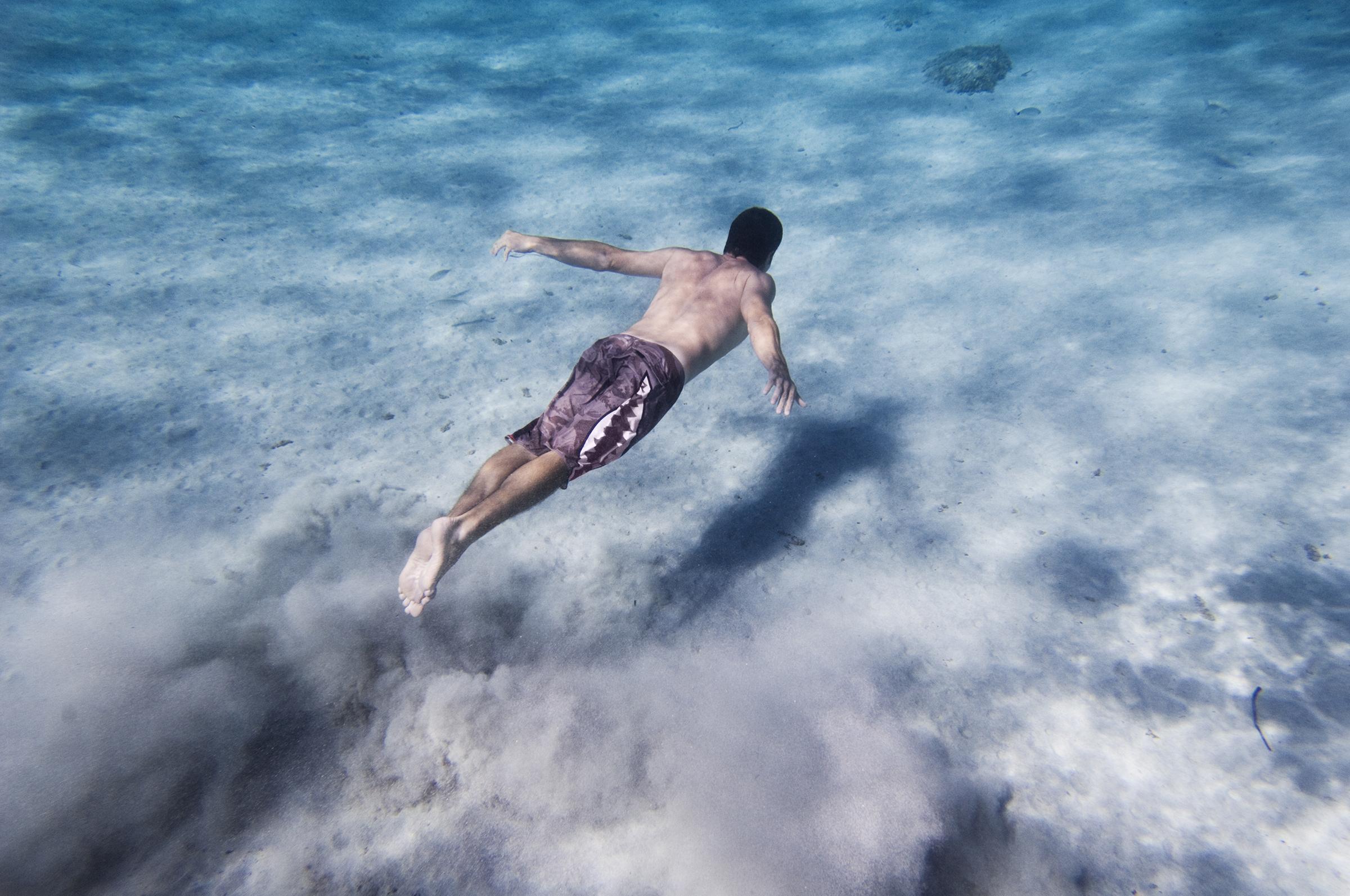 Wild swimming Sardinia