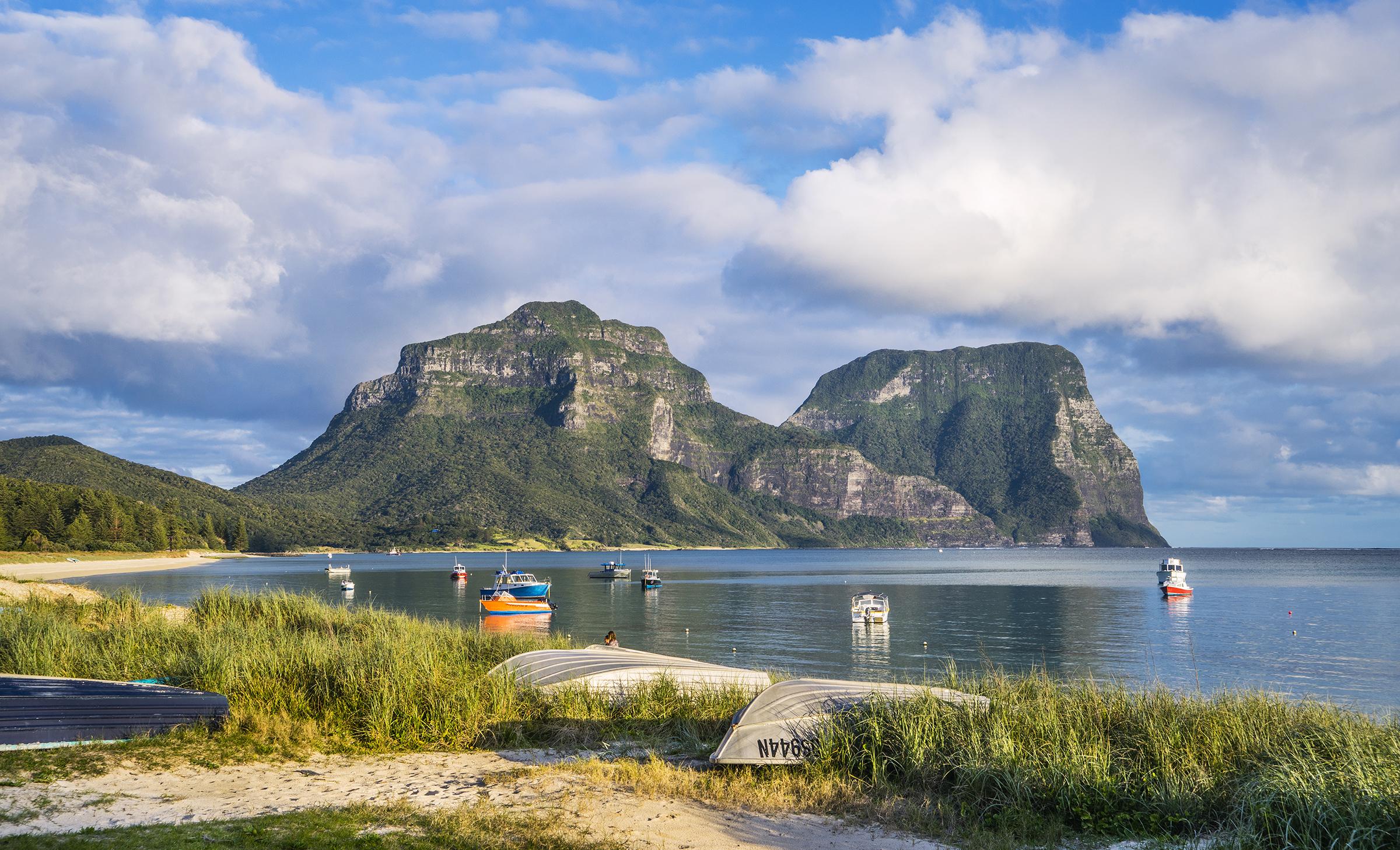 Southern hemisphere travel Lord Howe Island Australia