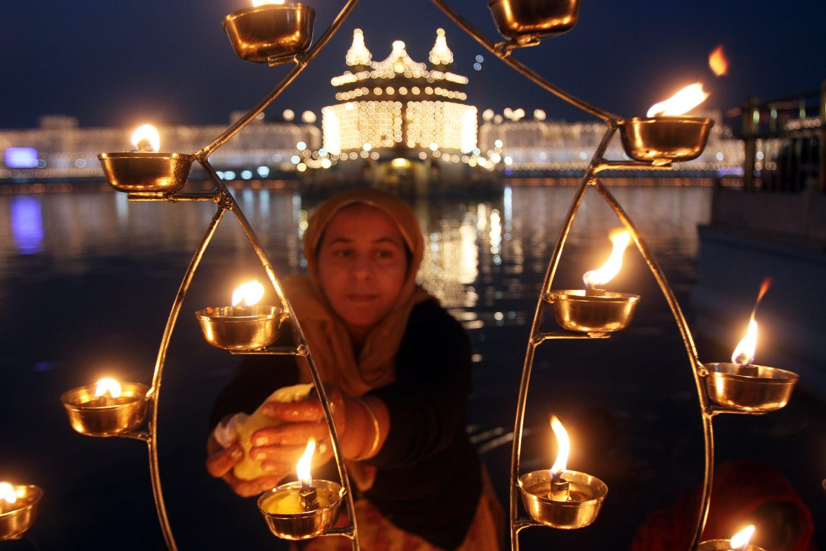 Golden Temple Amritsar India Diwali