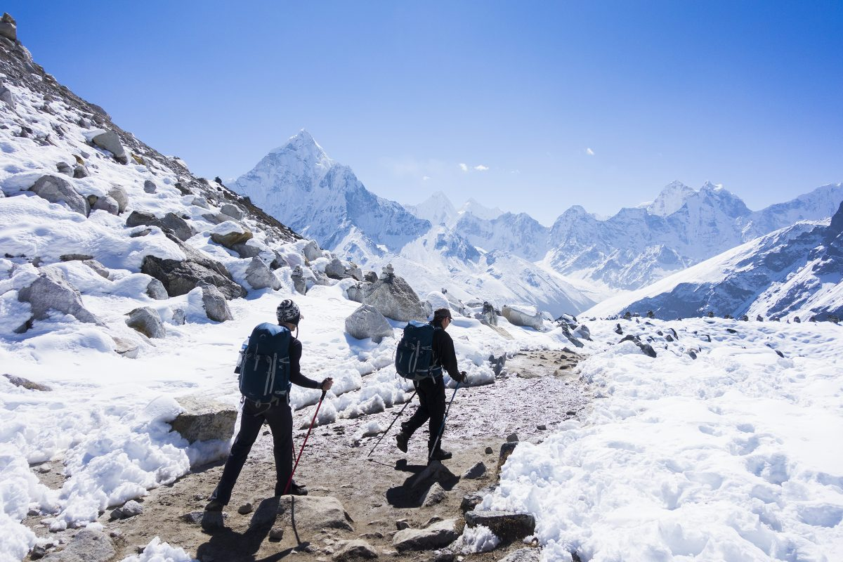 Trekking Everest adventure travel safety first