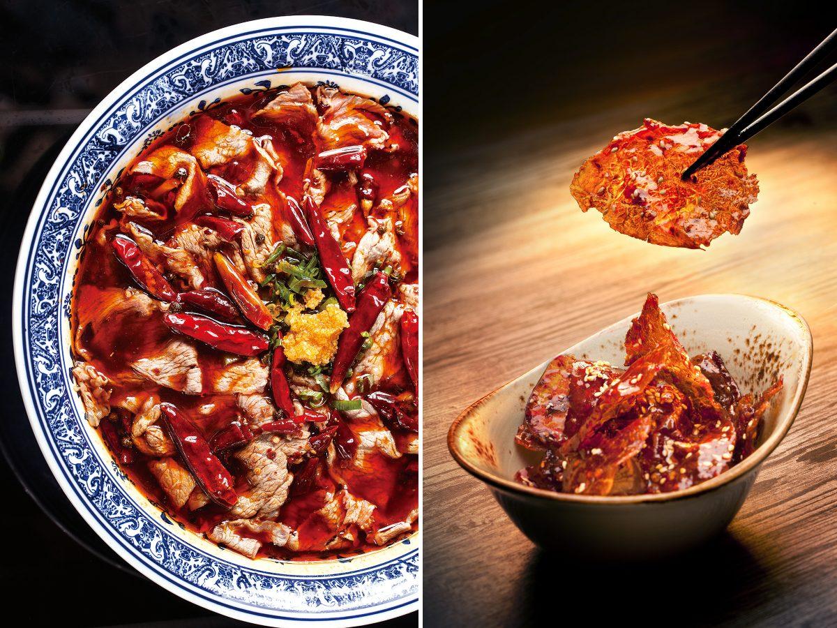 Translucent beef Yun Yan restaurant Hong Kong