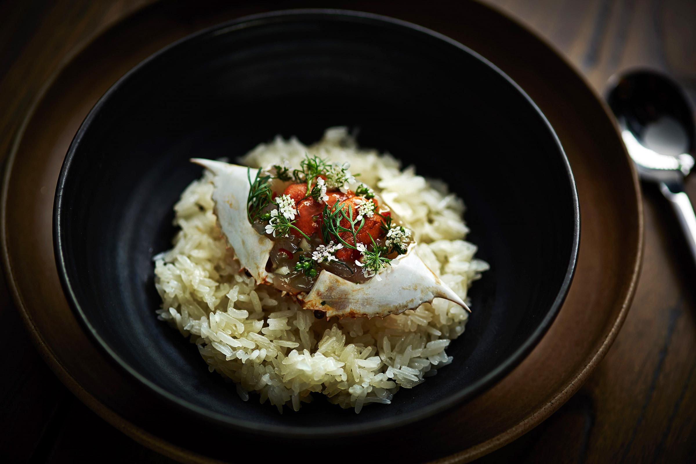 Fish School Hong Kong food sea urchin plate