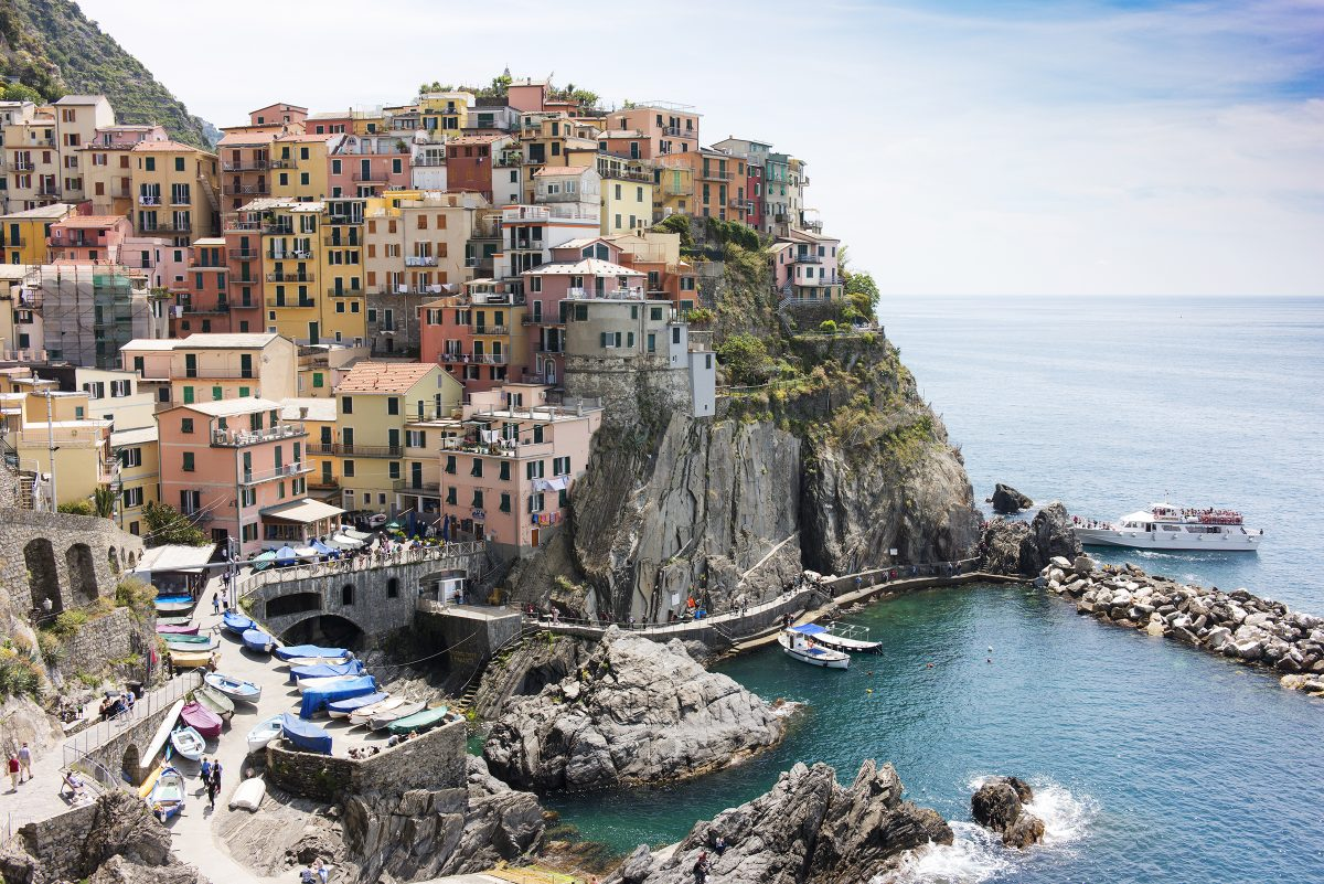 Manarola one of the Cinque Terre villages