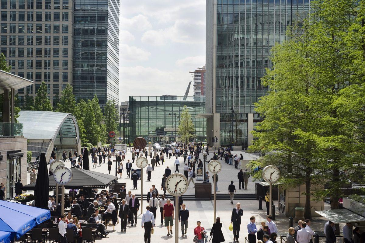 London Canary Wharf FinTech