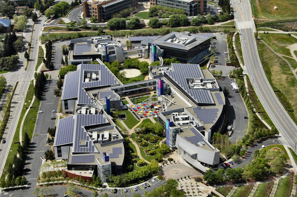 Silicon Valley California Google HQ