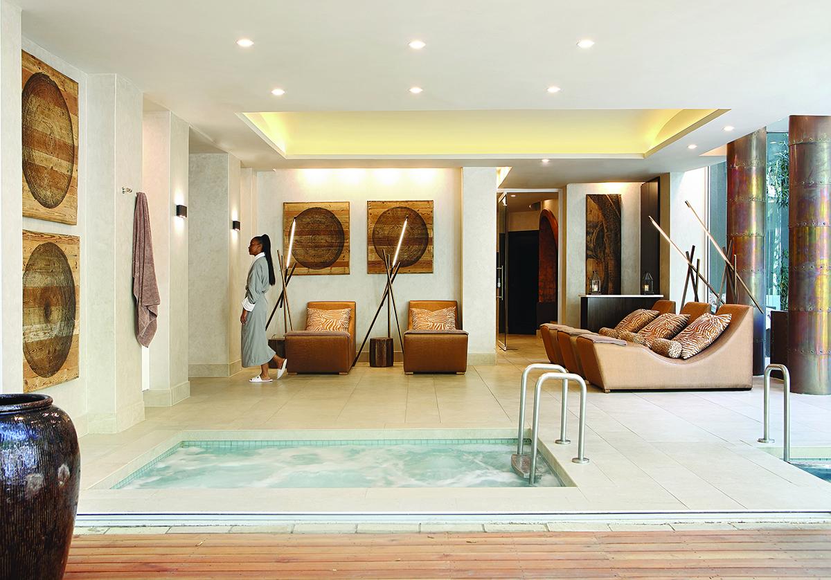 Saxon hotel spa