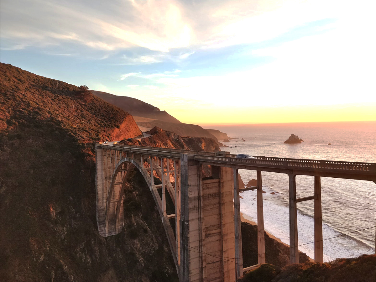 Bixby Bridge on Big Sur