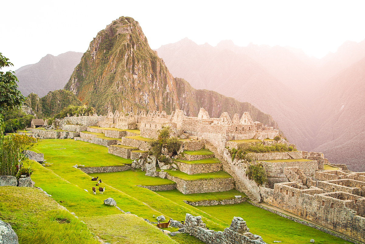 Machu Picchu Lost City of Incas Peru